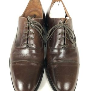 Bostonian Shoes - Bostonian Brown Leather Made In Italy Oxfords
